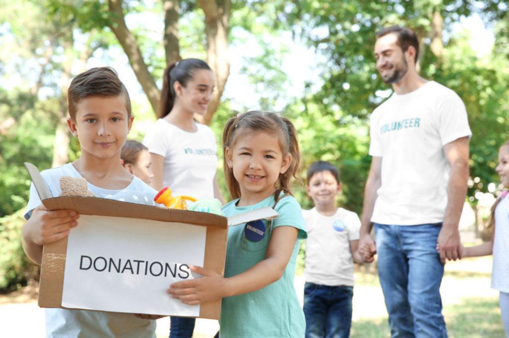 donation au profit de ses enfants